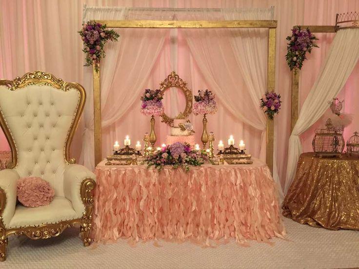 Princess/Garden Baby Shower Party Ideas
