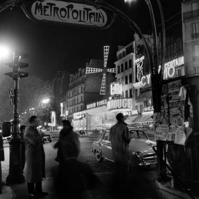 Parijs bij nacht 3 / Paris by Night 3, 1950's, Kees Scherer. Dutch (1920 - 1993)