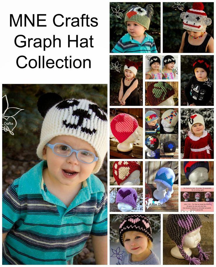 MNE Crafts: MNE Crafts Graph Hat Collection