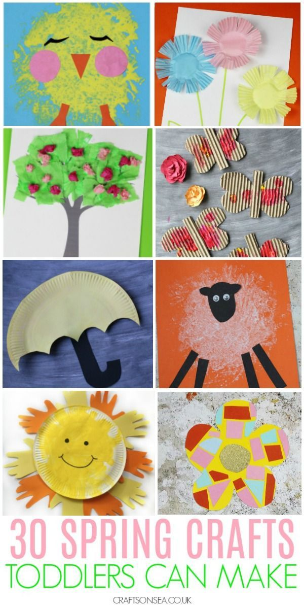 30 Easy And Fun Spring Crafts For Toddlers Spring Crafts