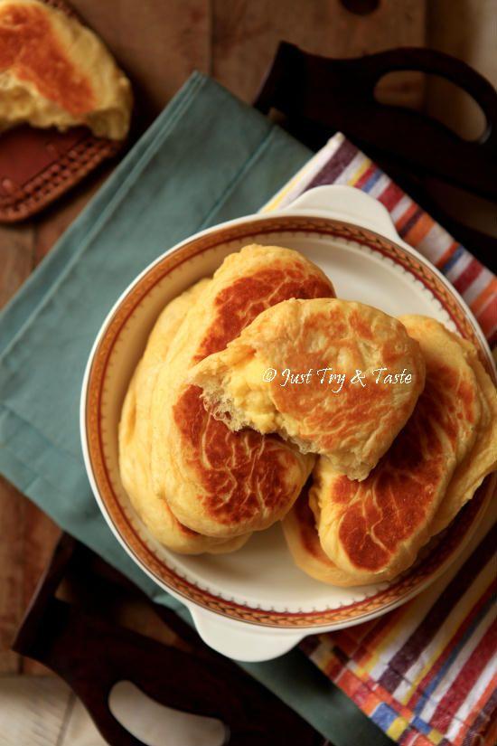 Resep Roti Manis Tanpa Oven Isi Krim Custard JTT