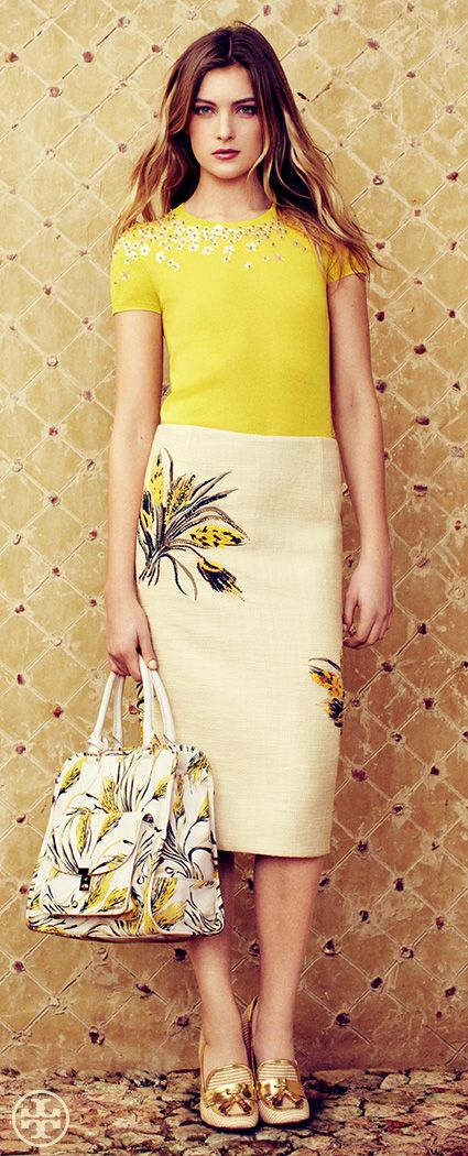 Rustic Meets Refined | Tory Burch Spring 2013