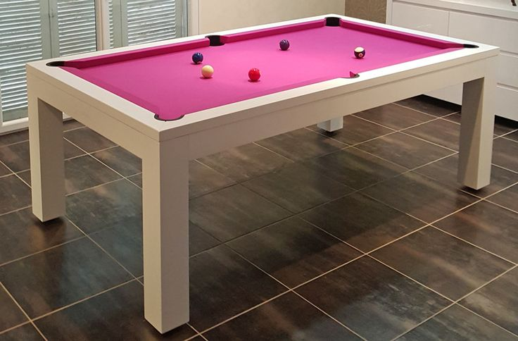 The Billiards Montfort Pool Dining Table made from Solid Beech - the perfect luxury item for your home.