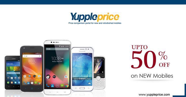 Get UPTO 50% Discount on New #Mobiles