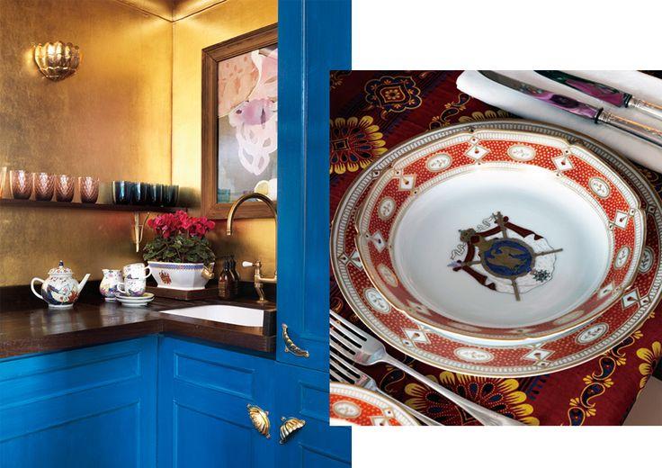 Лондонский дом наследницы империи обоев Ханны Сесил де Гурне | Выход в свет | Новости | VOGUE