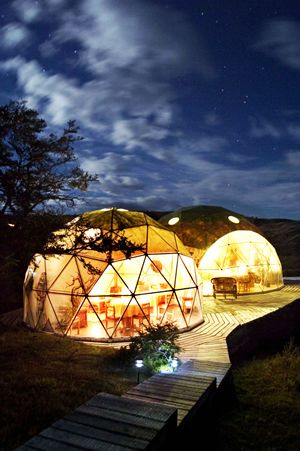 Ecocamp Patagonia. Explore Patagonia in harmony with nature.