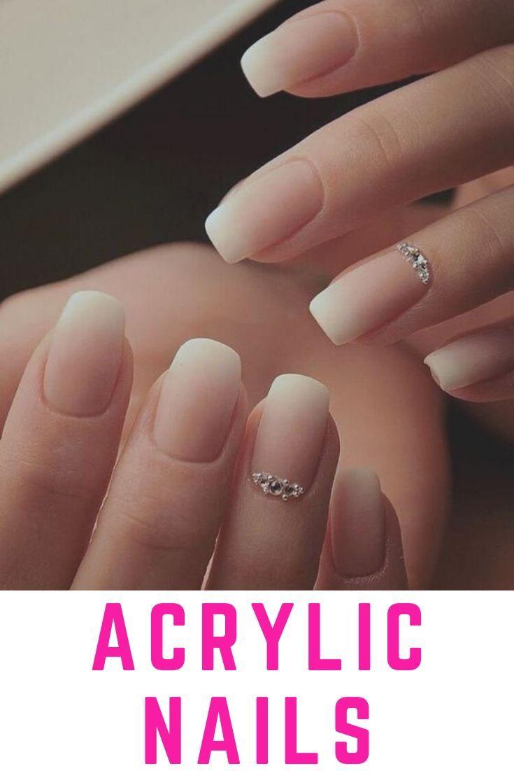 How Long Do Acrylic Nails Last And 14 Tips To Make Them Last Longer Neutral Nail Art Designs Bridal Nail Art Bride Nails