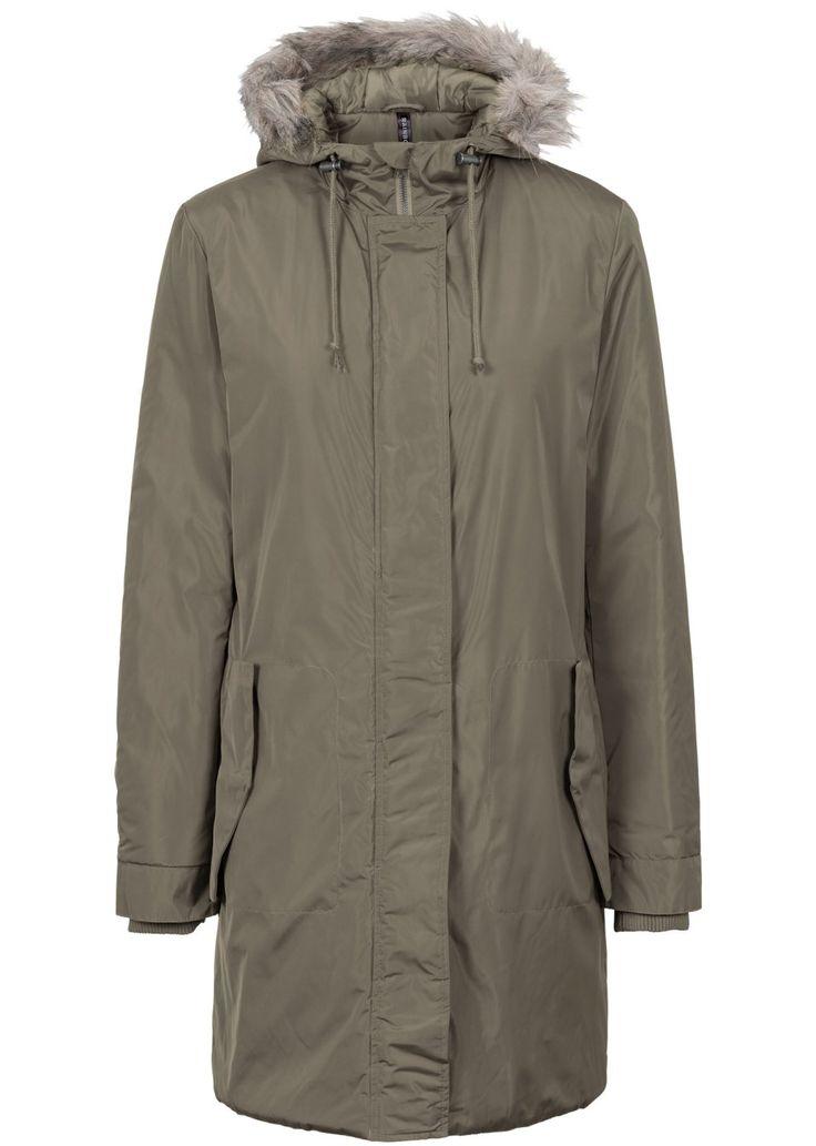 Посмотретьпрямо сейчас:  Пальто со съемным капюшоном на 8 пуговицах. Опушка из искусственного меха. Застежка на молнию с двумя замками. Воротник, манжеты и пояс в «резинку». На стеганой подкладке. Длина ок. 96 см (разм. 38).