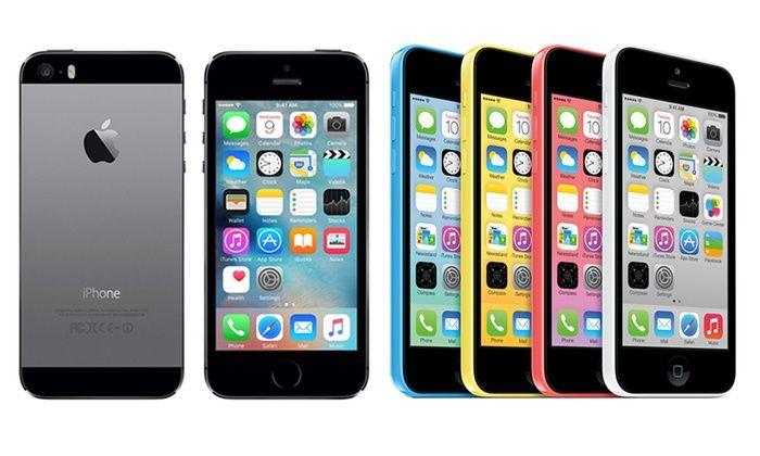 Apple iPhone 5, 5S et 5C reconditionné de 16 à 32 Go, plusieurs coloris disponibles dès 219€, livraison offerte