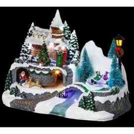 Village De Noël - Maison Montagne - Décoration