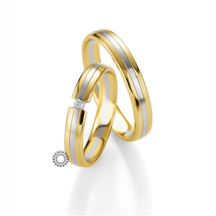 Βέρες γάμου BENZ 045 & 046 - Διαχρονικές χρυσές βέρες Benz. Η γυναικεία βέρα φοριέται και σαν μονόπετρο | Βέρες ΤΣΑΛΔΑΡΗΣ #βέρες #βερες #γάμου #διαμάντια