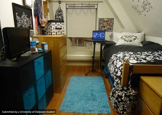 Such A Pretty Dorm Room!