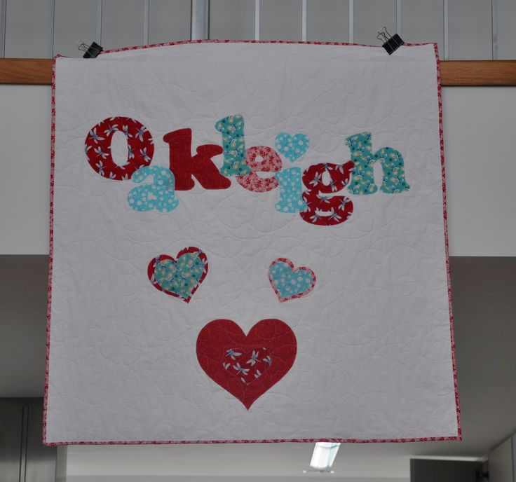 Oakleigh Personalised quilt