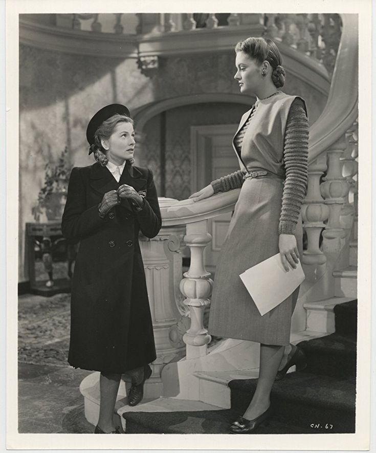Joan Fontaine and Alexis Smith in The Constant Nymph (1943)