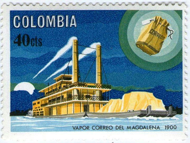 ¡¡¡1965 EN HONOR A LOS BARCOS DE TRANSPOTE DE CORREO!!!