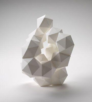 mini-mal-me: 3D Geometric (via all things paper: Daryl Ashton, Paper Sculpture Artist)