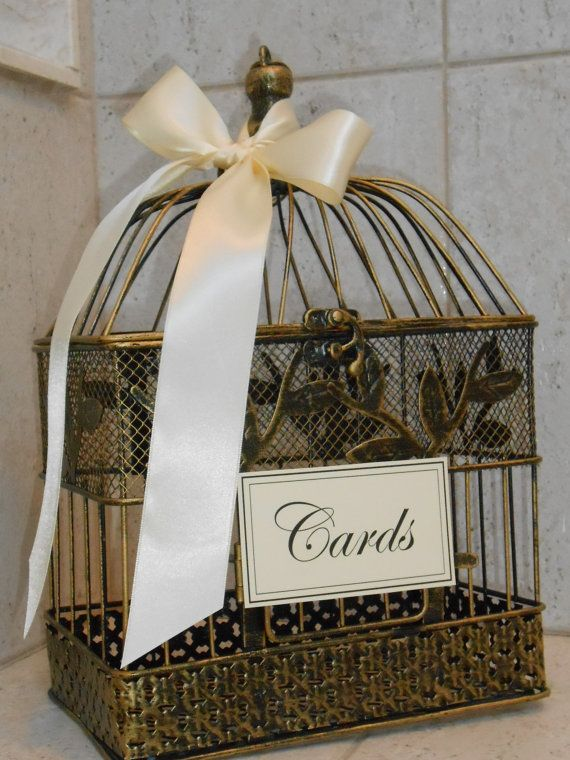 25 best ideas about birdcage wedding decor on pinterest for Petite cage a oiseaux decorative