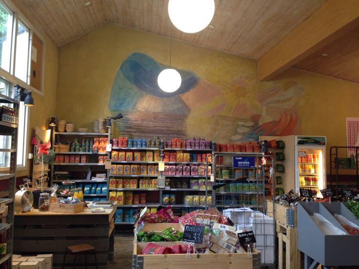 Saltå kvarn - biodynamic and organic food in Järna, Sweden