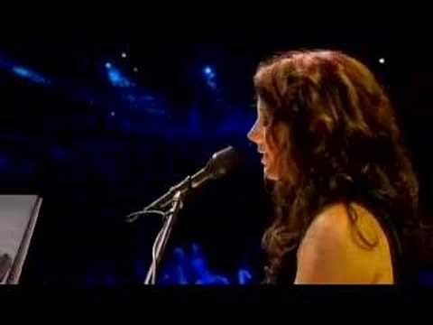 Angel by Sarah McLachlan.  One of the most beautiful and compassionate songs ever.  Love it and it's just the medicine I need right now.