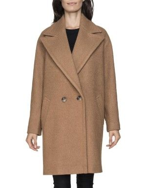 Oversized Wool Blend Coat | Woolworths.co.za