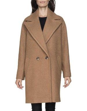 Oversized Wool Blend Coat | Woolworths.co.za
