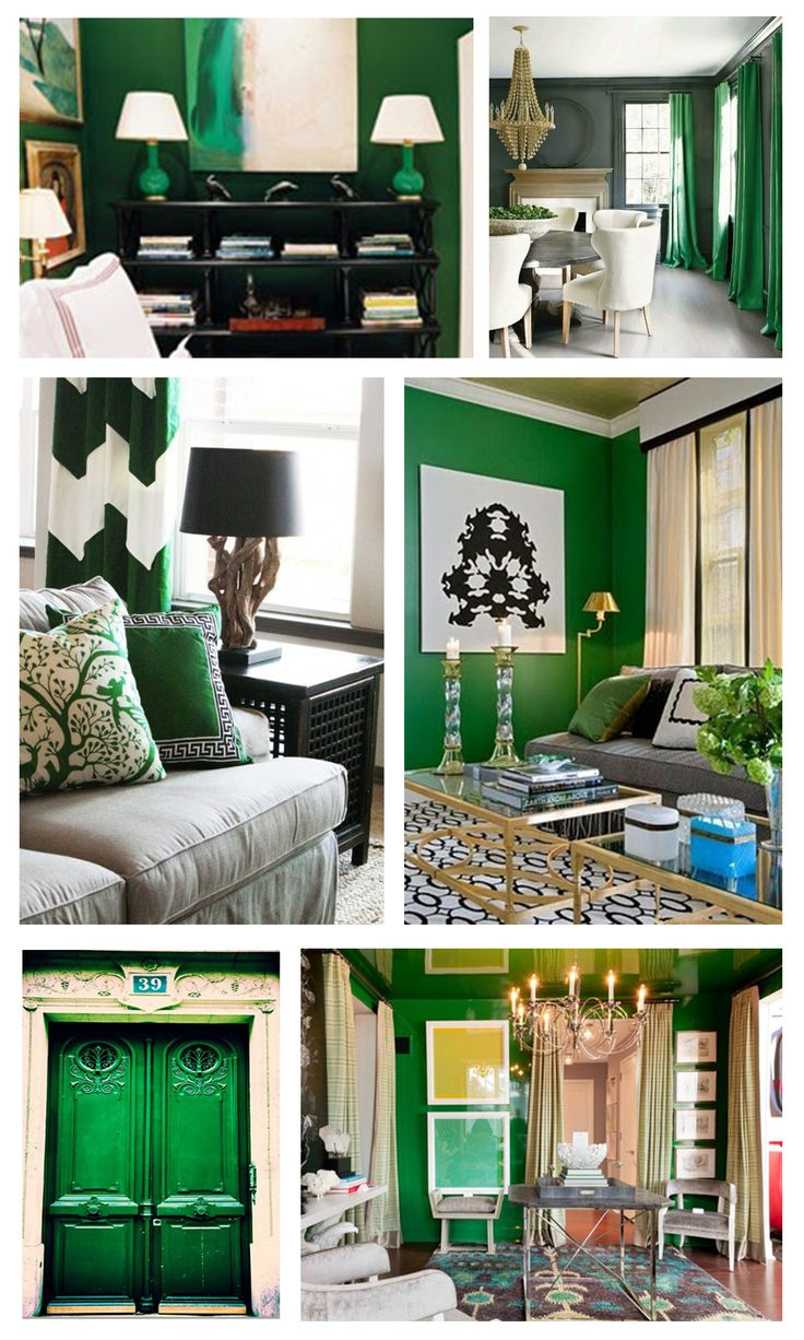 We Love Emerald Decor