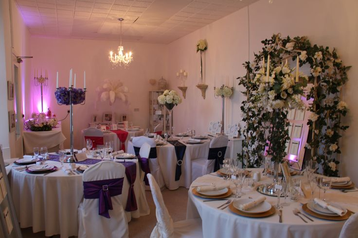 With the largest Venue Styling showroom in the region we can cater to every brides dream room decor.