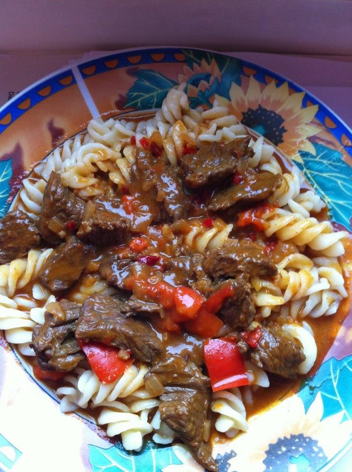 Beef and noodles ( german Gulasch) | Cook me | Pinterest