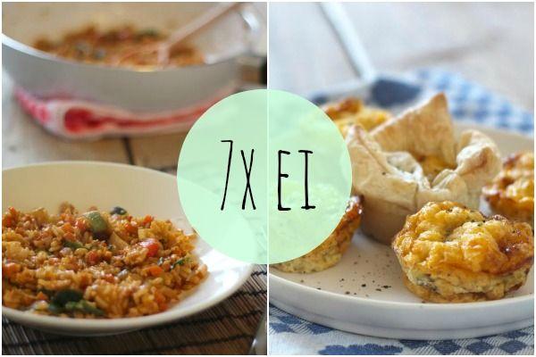 We doen vandaag weer eens simpel (zoals gewoonlijk :)): we hebben namelijk 7 recepten met ei. Met ei kun je alle kanten op. Maak bijvoorbeeld eens wat anders met ei dan bijvoorbeeld een omelet, zoals: ei-muffins of een gezondere versie van eiersalade. Sandwich met roerei, feta, prei en cherrytomaatjes Bloemkoolsalade met ei en doperwtjes Gezondere …