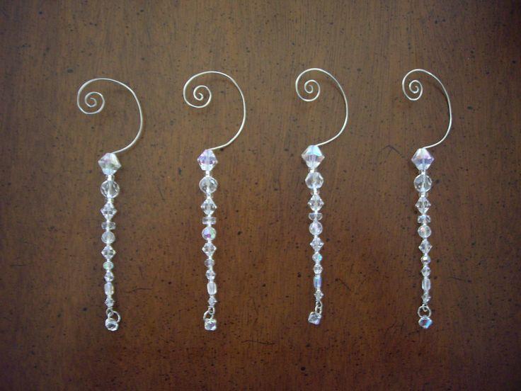 Crystal Christmas Tree Ornaments