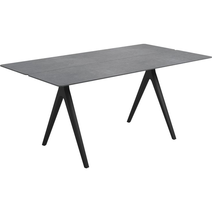 Gloster Small Split Ceramic Outdoor Dining Table 8131