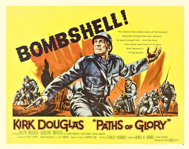 CARTELES DEL  CINEMA: SENDEROS DE GLORIA - Paths of Glory - 1957 - Stanl...