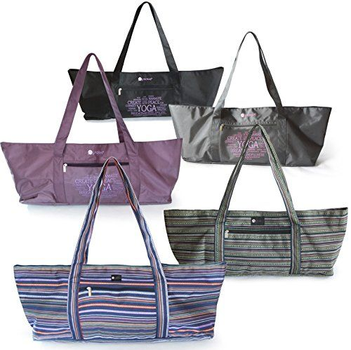 Aurorae Yoga Mat Tote Bag, Extra Wide To Fit Most Yoga