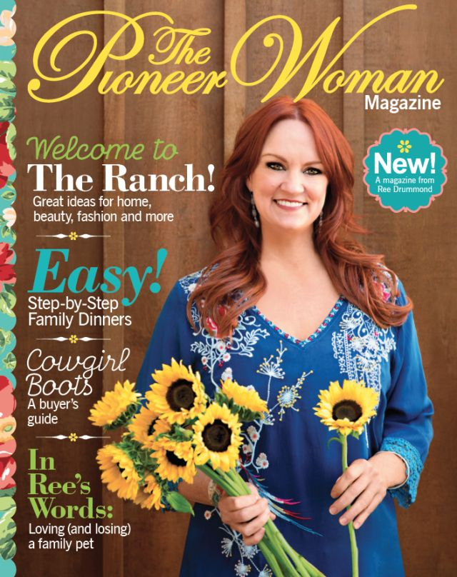 The Second Issue of Ree Drummond's Lifestyle Magazine Will Be Sold At Even More Stores
