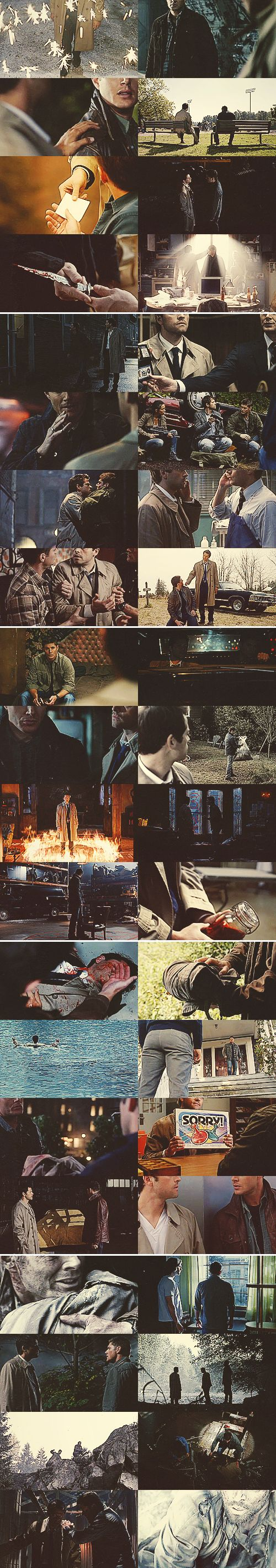 Dean + Castiel: We've been through much together, you and I #spn