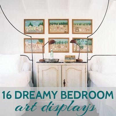 16 Dreamy Bedroom Art Displays