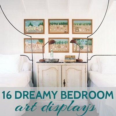 16 Dreamy Bedroom Art Displays