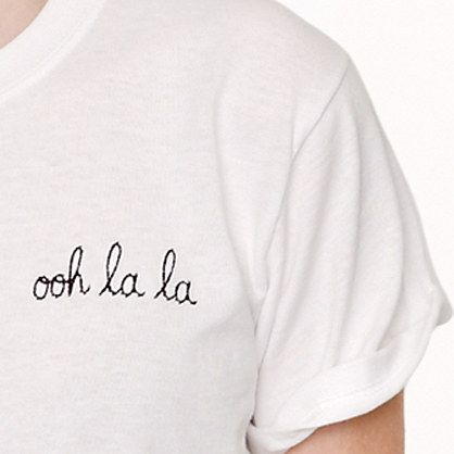 Maison Labiche™ for J.Crew ooh la la tee - short-sleeve tees - Women's knits & tees - J.Crew