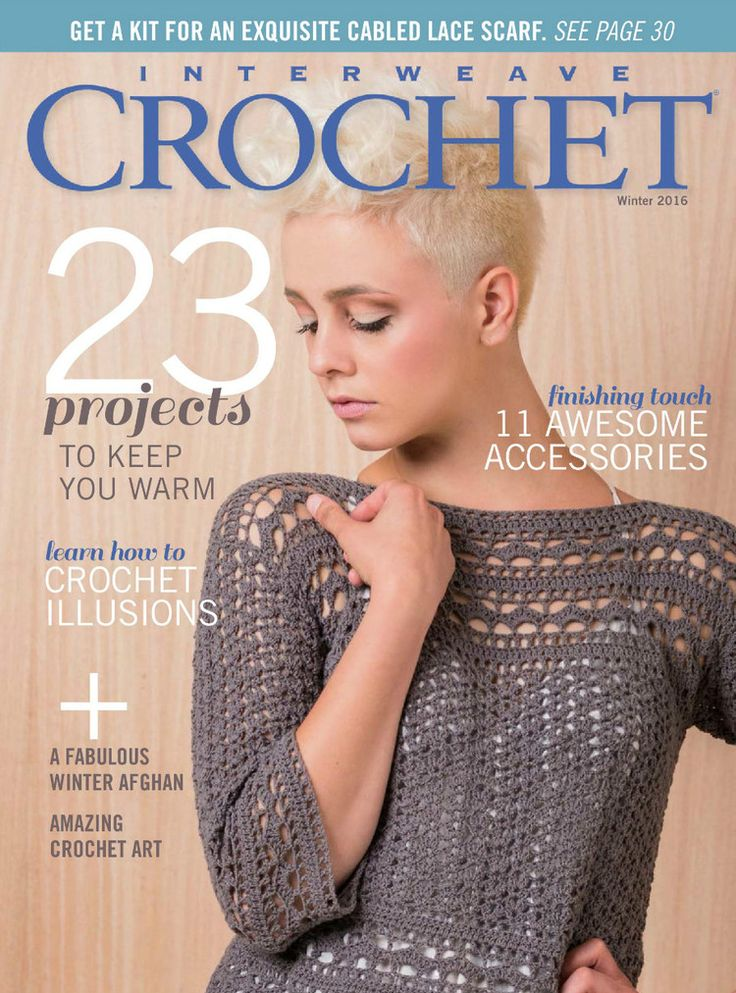 Interweave Crochet Winter 2016 Trié