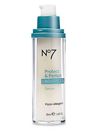 Boots No. 7 Protect & Perfect Advanced Serum   allure.com