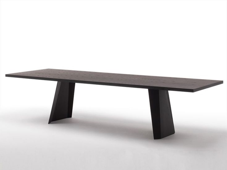 Rectangular table WEDGE by Living Divani  design Arik Levy  Dining Table  Pinterest ...
