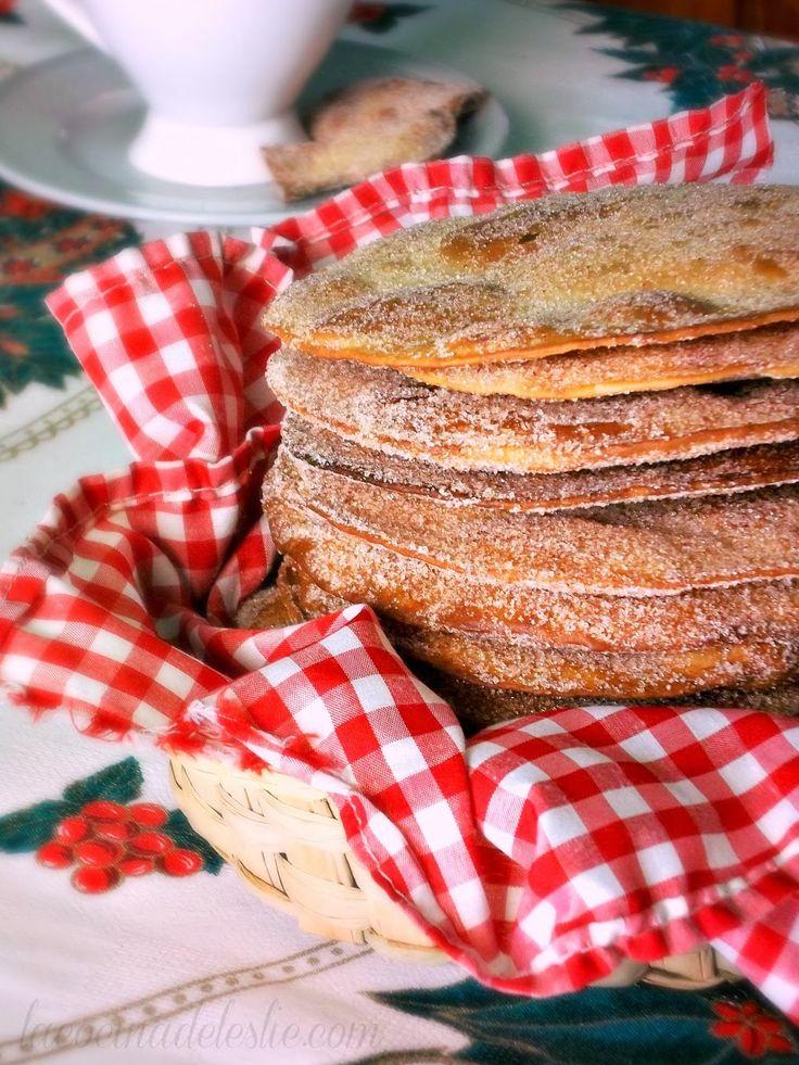 Easy Cinnamon Buñuelos & Cafe con Leche