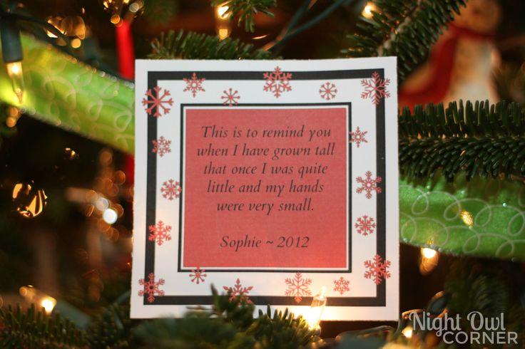 Handprint Santa Ornament Poem Handprint Poems Pinterest - 736x490 ...