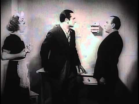 W starym kinie   Co mój mąż robi w nocy 1934 - YouTube