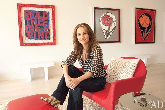 Giada De Laurentiis S Spanish Style Bungalow In California