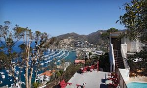Groupon - Stay at Zane Grey Pueblo Hotel on Catalina Island, CA, with Dates Available into October in Catalina Island, CA. Groupon deal price: $97