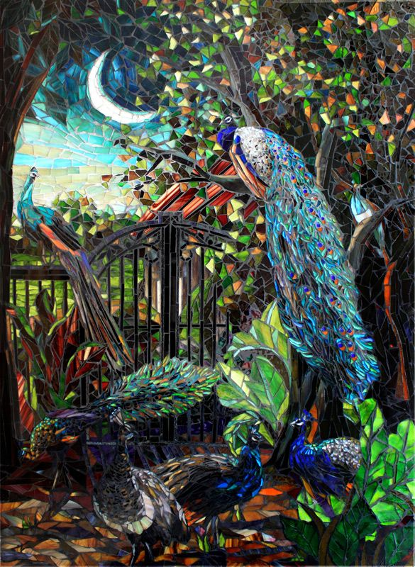 Mosaic Artists Gallery Photos of Landscape Mosaics Nature and Birds - Showcase Mosaics