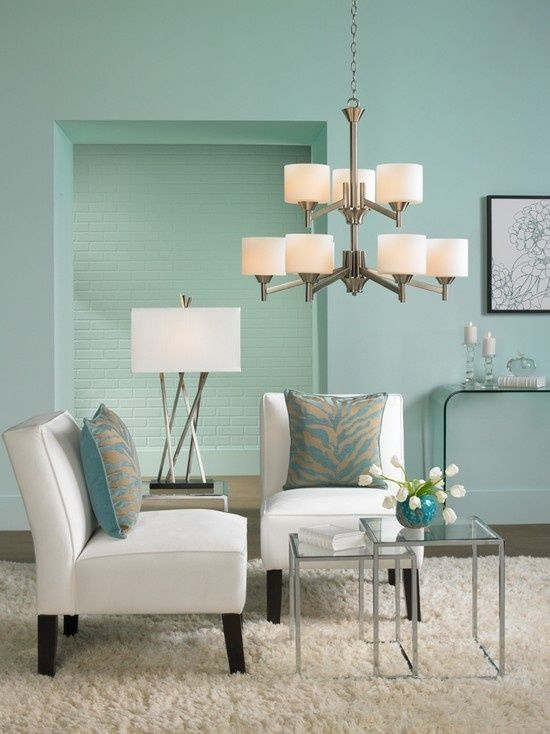 Surya Interior Design | Teal And Beige Tiger Patterned Surya Pillows · Aqua  Living RoomsLiving ... Part 88