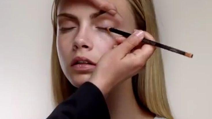 Video: Burberry Nude Makeup Beauty Tutorial - Racked