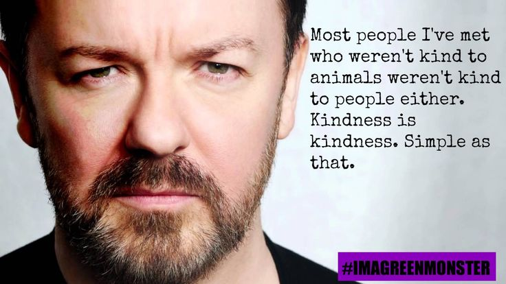 10 Outrageously Awesome Quotes From Ricky Gervais That Prove He Is a Bonafide Animal Lover!